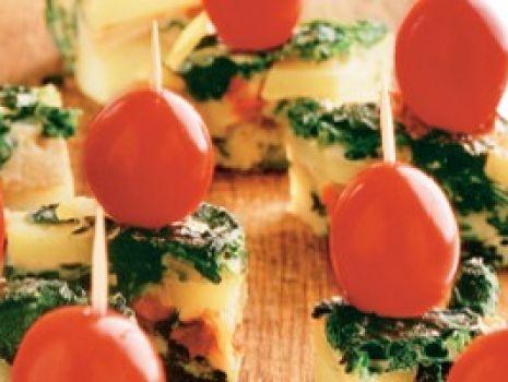 Przepis: Tortilla ziemniaczano-szpinakowa