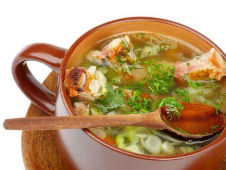 Przepis: Zupa z porów z wędzonką