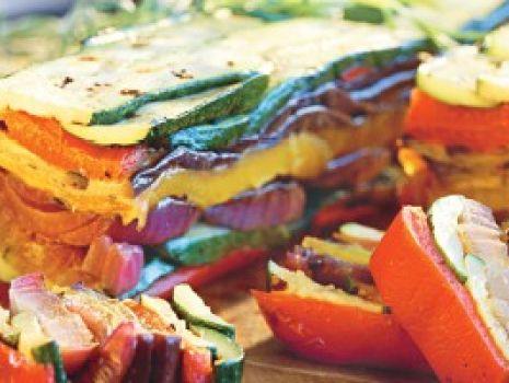 Przepis: Terrina z grillowanych warzyw