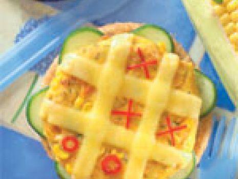 Przepis: Warzywne z serem