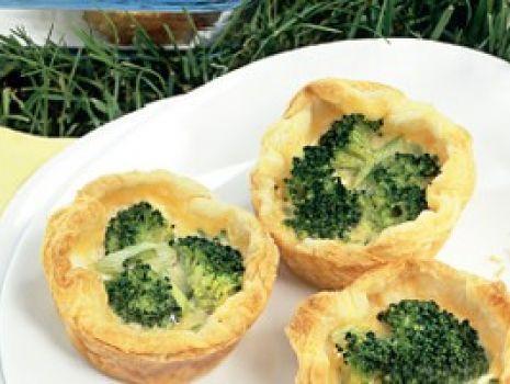 Przepis: Minikisz z brokułami