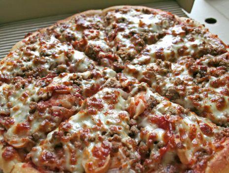 Przepis: Pizza z mięsem mielonym