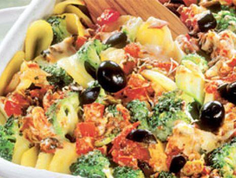 Przepis: Zapiekane ziemniaki z brokułami