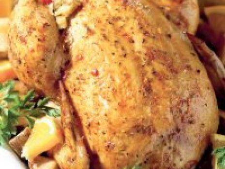 Przepis: Kurczak z farszem żurawinowym