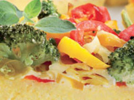 Przepis: Pizza z polenty