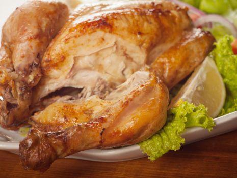 Przepis: Kurczak pieczony w cebuli