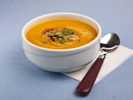 Przepis: Pikantna zupa z dyni