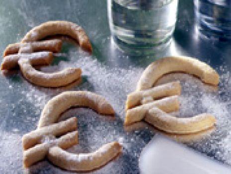 Przepis: Kruche ciasteczka euro