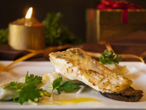 Przepis: Filet z sandacza w sosie musztardowo-miodowym