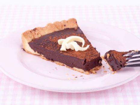 Przepis: Mazurek z czekoladą