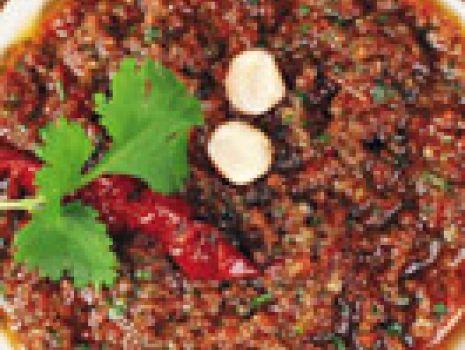 Przepis: Pomidorowe pesto z kolendrą