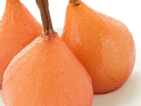 Przepis: Gruszki w sosie na gorąco