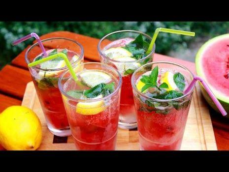Lemoniada arbuzowa | Smaczne-Przepisy
