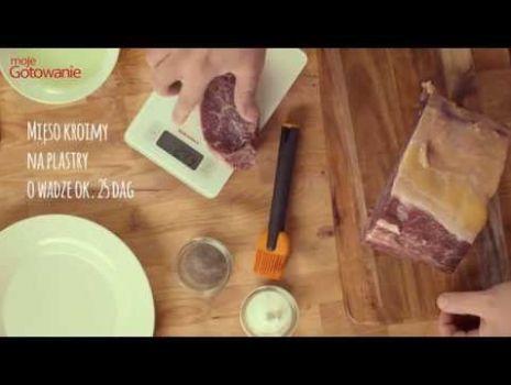 Moje Gotowanie Jak zrobić stek New York?