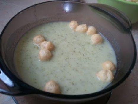 Krem z brokułów [KuchniaRenaty]