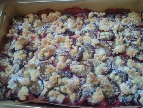 Ciasto ze śliwkami część 1 [KuchniaRenaty]