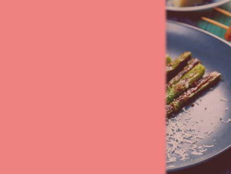 Grillowane szparagi