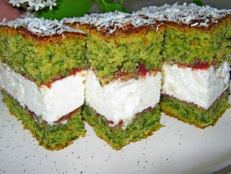 Przepis: ciasto ze szpinakiem==