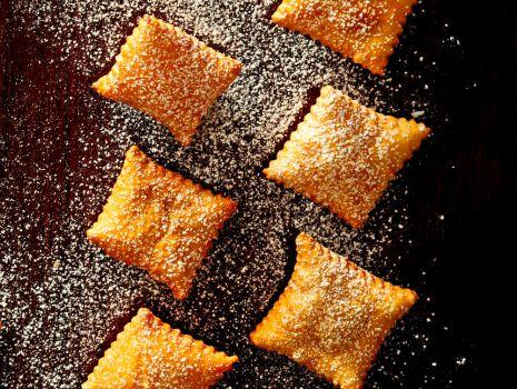 Przepis: cytrynowe ciastka faworkowe