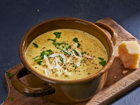 Przepis: zupa brokułowa