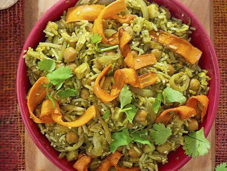 Przepis: ryz smazony z warzywami