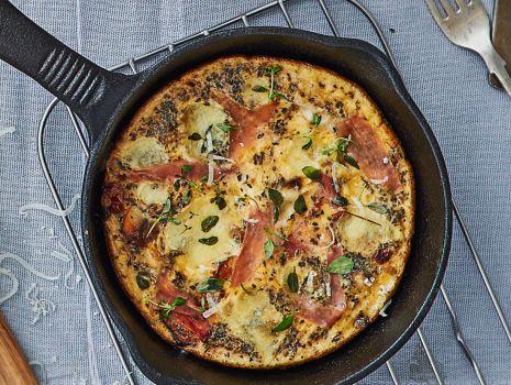 Przepis: omlet a la pizza