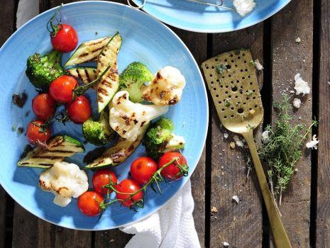 Przepis: Warzywa z rusztu