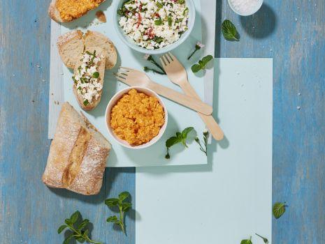 Przepis: Twarożek chili i pasta paprykowa