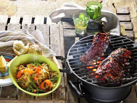 Przepis: Żeberka w sosie barbecue