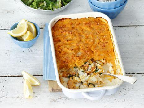 Przepis: Zapiekanka z dorsza, ziemniaków i curry