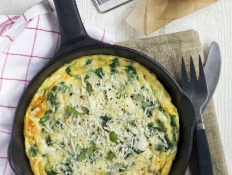 Przepis: omlet ze szczawiem