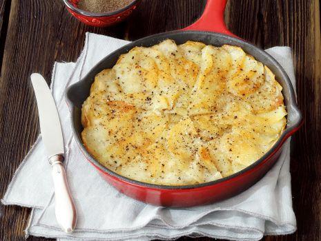 Przepis: Tarta z płatków kartoflanych