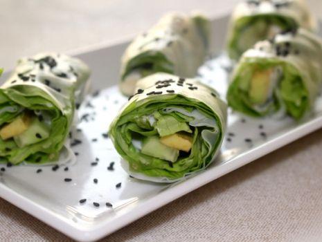 Przepis: Rollsy wegetariańskie