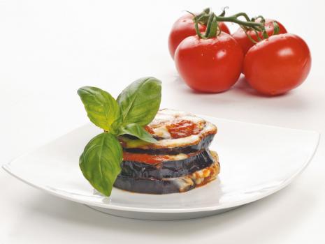 Przepis: Parmigiana z bakłażanem
