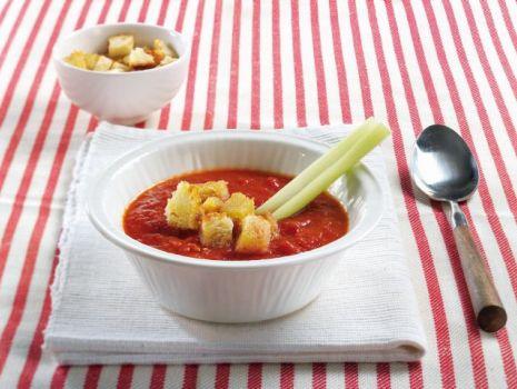 Przepis: Pomidorowe Gazpacho