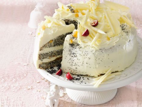 Przepis: Tort makowy