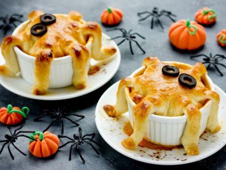 Przepis: upiorne muffiny w kształcie ośmiorniczek