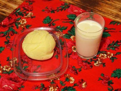 Przepis: masło i maślanka