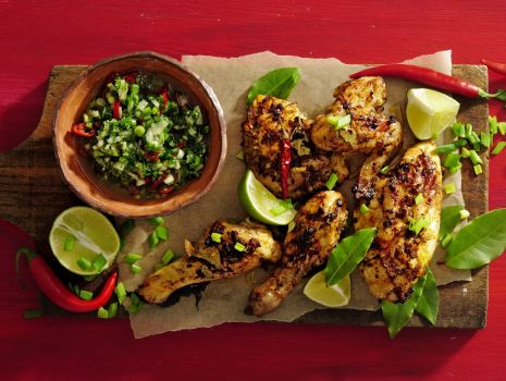 Przepis: Kurczak z kreolskim sosem chien