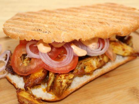 Przepis: Kanapka kebab gyros