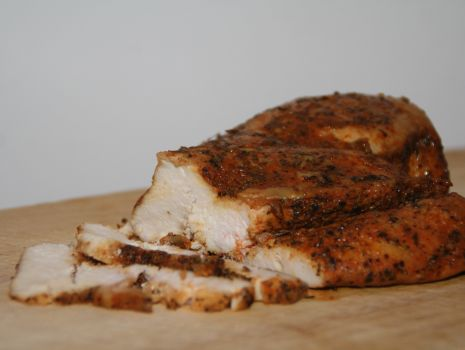 Przepis: Pieczony filet drobiowy na kanapki