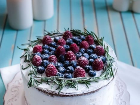 Przepis: naked cake