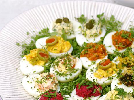 Przepis: Jajka faszerowane z makrelą