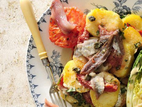 Przepis: Kartofle po neapolitańsku