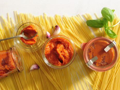 Przepis: Sos dyniowo-pomidorowy