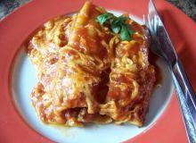 Cannelloni z mięsem mielonym i pieczarkami