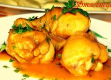 Pałeczki z kurczaka w sosie :-)