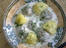 Pulpety w białym sosie