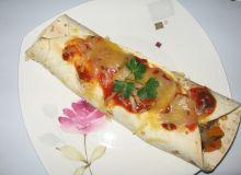 zapiekane tortille warzywne