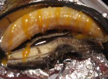banan z grilla w sosie toffi